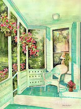 Kathleen Berry Bergeron - The Porch At Sinclair Towers