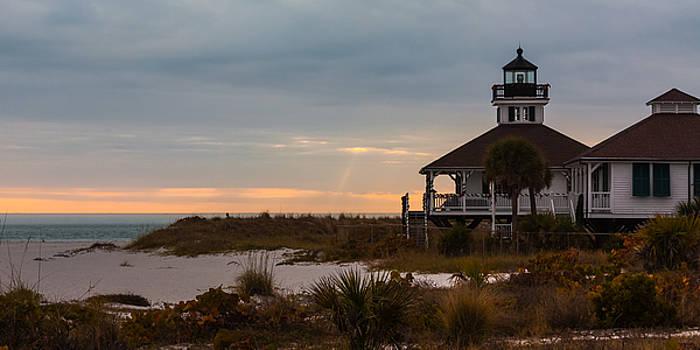 The Port Boca Grande Lighthouse by Ed Gleichman