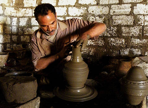 The Potter's Wheel by Aisha Abdelhamid