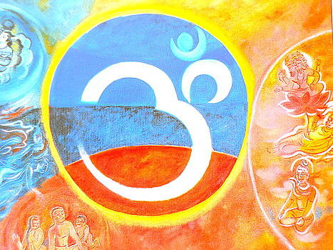 The power of om by Rupali  Motihar