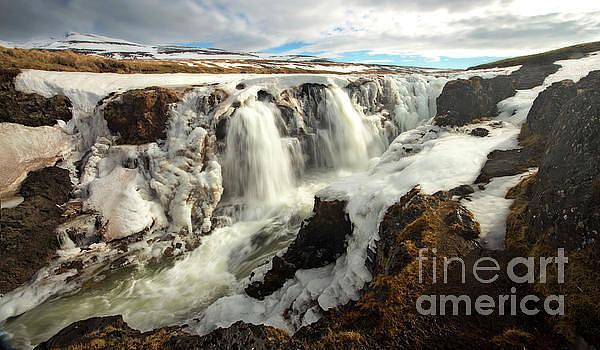 The Power of Spring - Kolugljufur Canyon, Iceland by Matt Tilghman