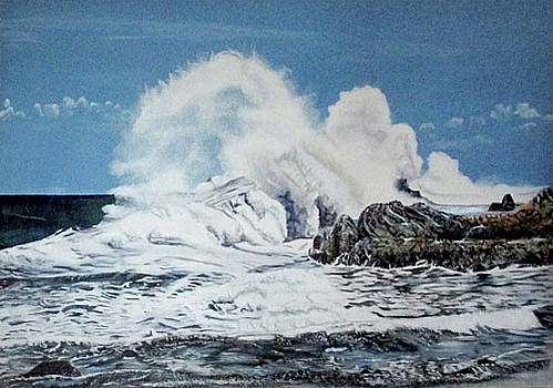 The Power Of The Sea by Suzahn King