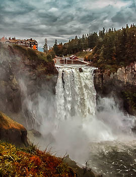 The Powerful Snoqualmie Falls by Kevin McClish