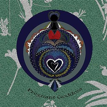 The Pregnant Goddess - Original by Lori Kirstein