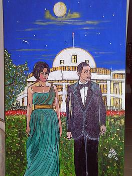 the presadent and first Lady by Jeffrey Foti