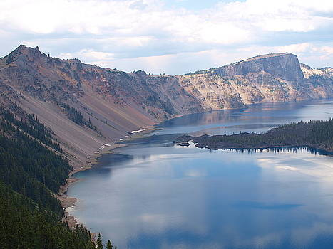 The Presence of Crater Lake by Marta Mannenbach