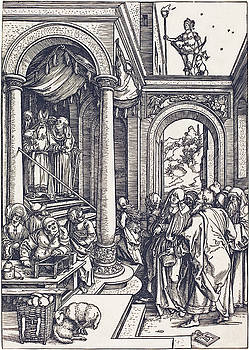 Albrecht Durer -  The Presentation of the Virgin in the Temple