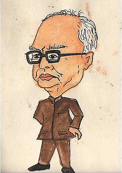 The President of India - Pranav Mukherjee by Tanmay Singh