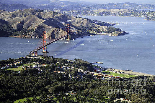 The Presidio and The Golden Gate by Hugh Stickney