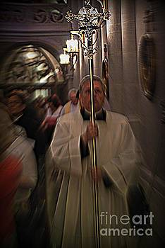 The Processional Cross by Frank J Casella