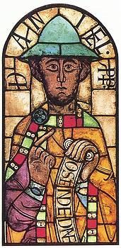 Suddeutscher Glasmale - The Prophet Daniel