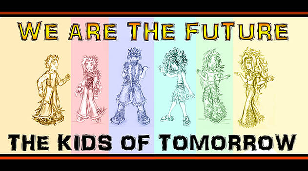 The Proud Kids of Tomorrow 1 by Shawn Dall