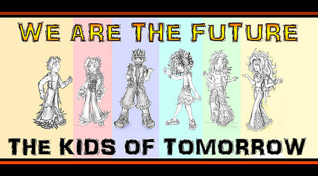 The Proud Kids of Tomorrow 2 by Shawn Dall