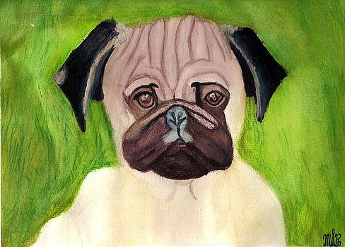 The Pug by Mark Richard Luther