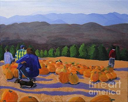 The Pumpkin Patch by Marina McLain