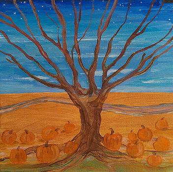 The Pumpkin Tree by Dawn Vagts