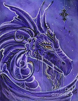The purple dragon by Renee Lavoie