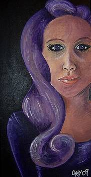 The Purple-Haired Lady by Corey Stewart