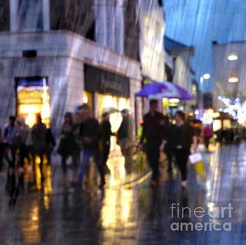 The Purple Umbrella by LemonArt Photography