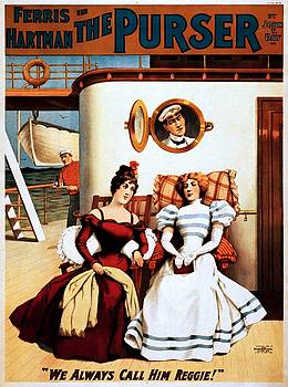 The Purser, theatrical poster, 1898 by Vintage Printery