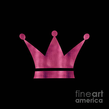Tina Lavoie - The Queen Hazy Pink Crown art