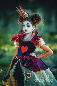 Dimitar Hristov - The Queen of Hearts Alice in Wonderland