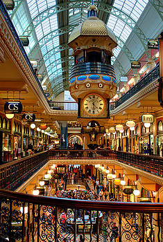 David Iori - The Queen Victoria Building - QVB - Sydney Australia