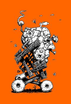 The Ratmobile by Kim Gauge