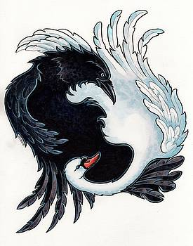 The Raven and The Swan by Christine Karron
