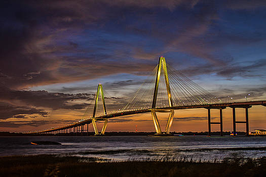 The Ravenel Bridge by Steve Hammer