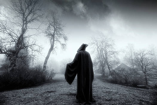 The Reaper Moving Through Mist And Fog by Christian Lagereek