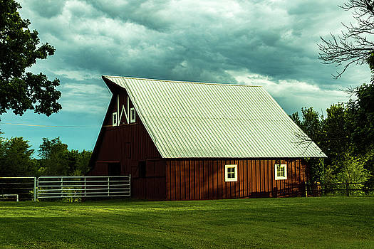 The Red Barn by Jay Stockhaus