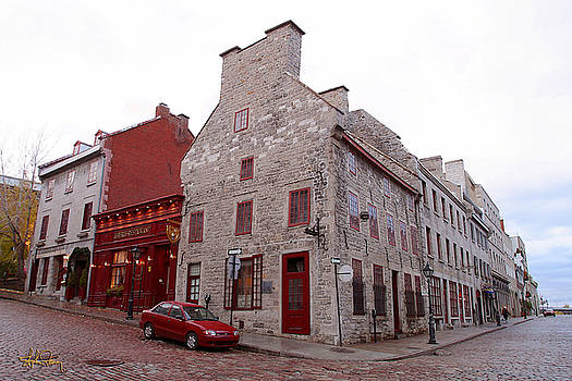 The Red Corner - Montreal by Stephen Fanning