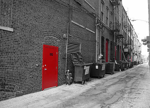 The Red Door by George Strohl