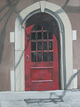 The Red Door by Joan McGivney
