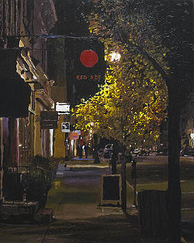 The Red Dot at Night by Kenneth Young