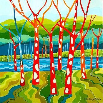 The Red Forest by Carola Ann-Margret Forsberg