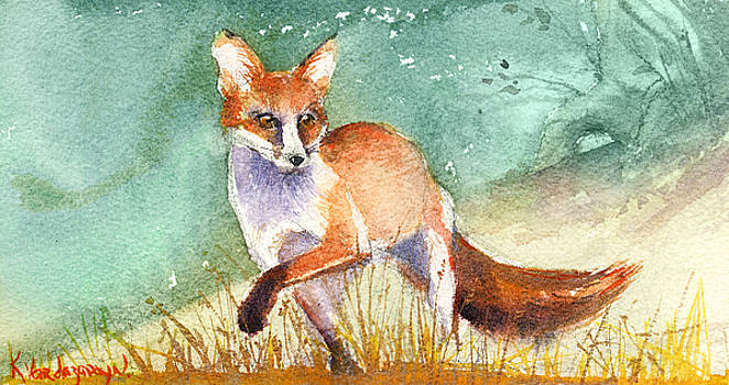 The Red Fox by Kristina Vardazaryan