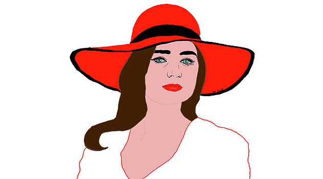The Red Hat  by Kate Farrant