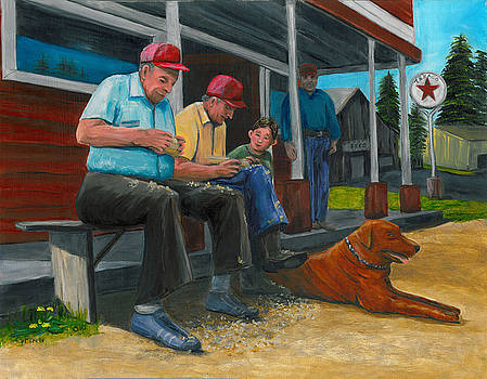 The Red Hat Whittlers by Gail Finn