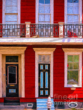 Kathleen K Parker - The Red House-Nola-Faubourg Marigny