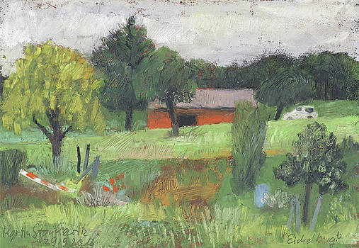 Martin Stankewitz - The red hut - rote Huette