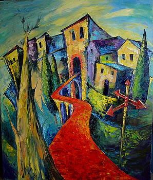 The Red Road by Keren Gorzhaltsan