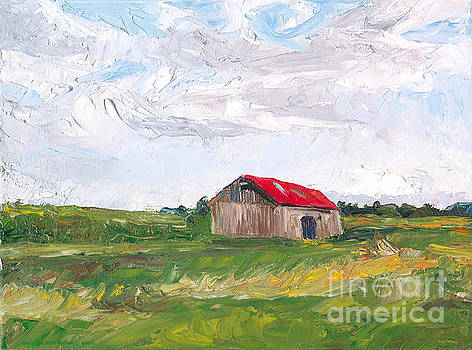 The Red Roof by Michael Martin