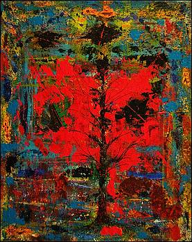 The Red Tree -OR- Paint by Scott Haley
