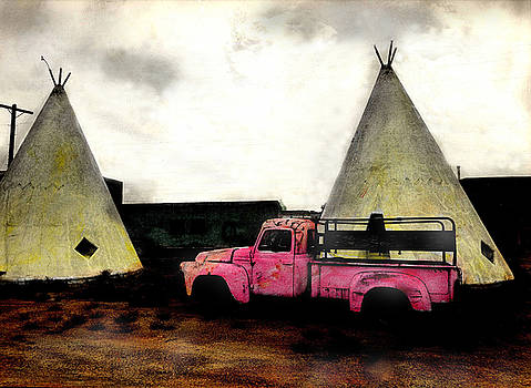 The Red Truck by JDon Cook