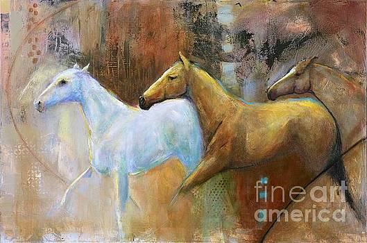 The Reflection of the White Horse by Frances Marino