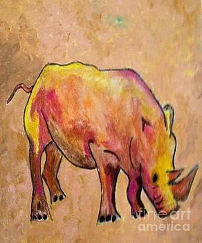 The Rhino by Shirley Barone
