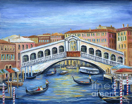 The Rialto Bridge by Marilyn Dunlap