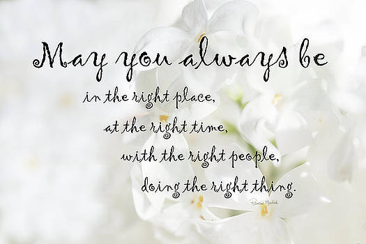 The Right Place Blessing by Ramona Murdock